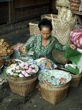 Javanese Woman, Jogjakarta, Java, Indonesia, Southeast Asia by Sybil Sassoon