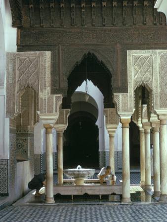 Karouine (Kairaouine) Mosque, Medina, Unesco World Heritage Site, Fez (Fes), Morocco