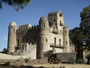 King Fasiuda's Castle, Gondar, Ethiopia, Africa by Sybil Sassoon