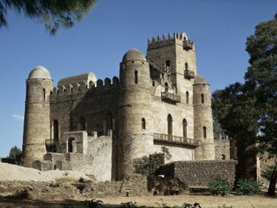 King Fasiuda's Castle, Gondar, Ethiopia, Africa