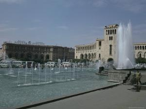 Lenin Square, Erevan, Armenia, Caucasus, Central Asia by Sybil Sassoon