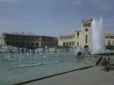 Lenin Square, Erevan, Armenia, Caucasus, Central Asia