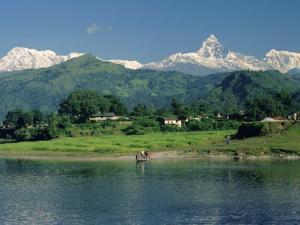 Machapuchare (Machhapuchhre) Peak, Pokhara, Himalayas, Nepal by Sybil Sassoon