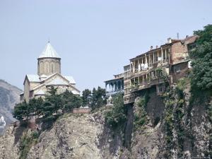 Metekhi Church, Tbilisi, Georgia, Central Asia by Sybil Sassoon