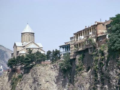 Metekhi Church, Tbilisi, Georgia, Central Asia