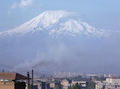 Mount Ararat, Erevan, Armenia, Caucasus, Central Asia