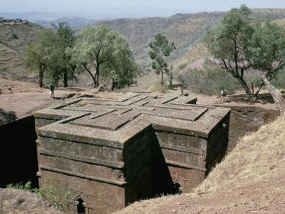 Rock-Cut Christian Church, Lalibela, Unesco World Heritage Site, Ethiopia, Africa