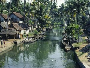 The Backwaters, Kerala State, India, Asia by Sybil Sassoon
