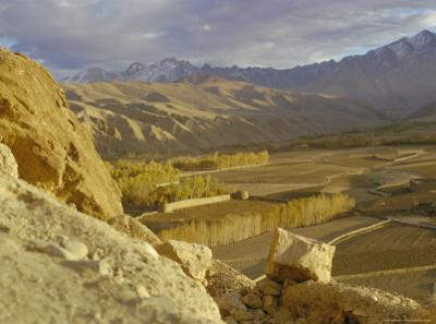 The Bamiyan Valley and the Koh-I-Baba Range of Mountains, Afghanistan