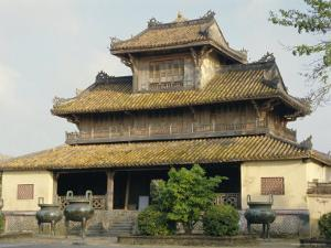 The Citadel, Hue, Vietnam, Indochina, Southeast Asia, Asia by Sybil Sassoon