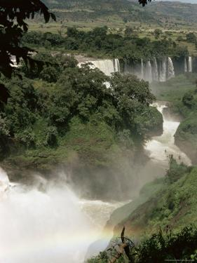 Tis Isat Falls on the Blue Nile, Ethiopia, Africa by Sybil Sassoon