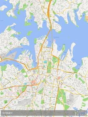 Sydney, Australia Map