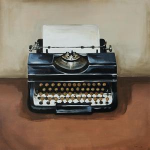 Vintage Classics I - typewriter by Sydney Edmunds