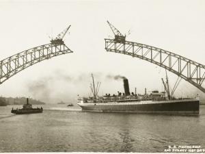 Sydney Harbour Bridge, Australia - Construction