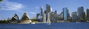 Sydney Opera House and City, Sydney Harbor, Sydney, New South Wales, Australia