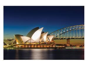 Sydney Opera House & Bridge