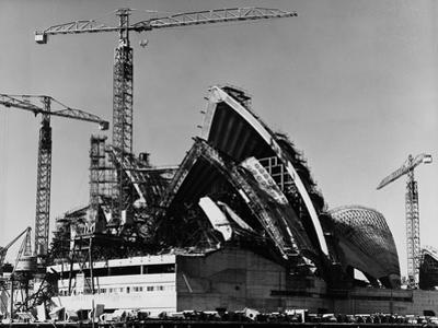 Sydney Opera House under Construction
