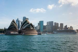 Sydney Opera House with Buildings at Circular Quay, Sydney, New South Wales, Australia