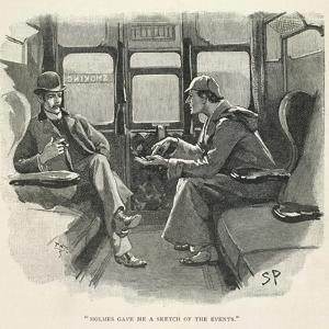 Sherlock Holmes and Dr. Watson by Sydney Pager