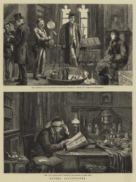Oxford Illustrated by Sydney Prior Hall