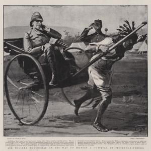 Sir William Maccormac on His Way to Inspect a Hospital at Pietermaritzburg by Sydney Prior Hall