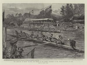 The Americans at Henley Regatta by Sydney Prior Hall