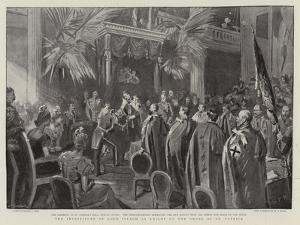 The Investiture of Lord Iveagh as Knight of the Order of St Patrick by Sydney Prior Hall