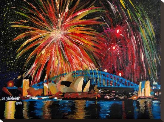Sydney Silvester-M Bleichner-Stretched Canvas Print