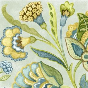 Decorative Golden Bloom I by Sydney Wright