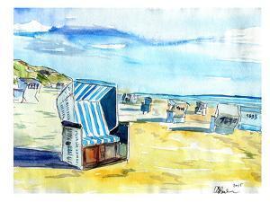 Sylt German Island Beach by M Bleichner