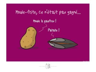 Adé l'chicon - Moule-frite, pas gagné ! by Sylvain Bichicchi
