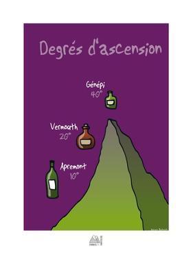 Fondus de montagne - Degrès d'ascension by Sylvain Bichicchi