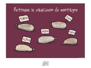 Fondus de montagne - Saucissons de montagne by Sylvain Bichicchi