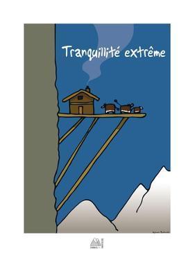 Fondus de montagne - Tranquilité extrême by Sylvain Bichicchi