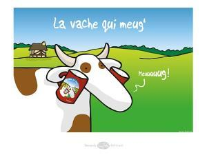 Heula. La vache qui meug by Sylvain Bichicchi
