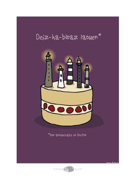 Oc'h oc'h. - Bon anniversaire breton by Sylvain Bichicchi