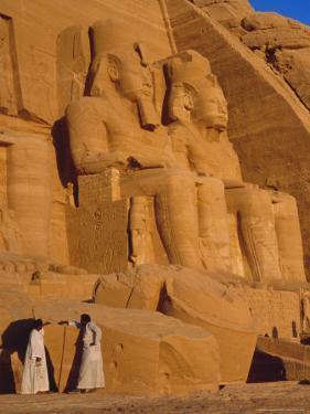 Abu Simbel, Egypt, North Africa by Sylvain Grandadam