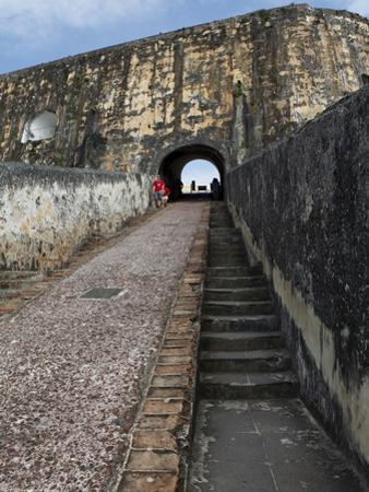 Castillo San Felipe Del Morro, Old Spanish Fortress, San Juan, Puerto Rico, West Indies, Caribbean