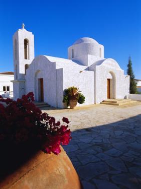 Church, Cyprus, Europe by Sylvain Grandadam