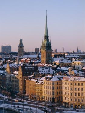 City Skyline, Stockholm, Sweden, Scandinavia, Europe by Sylvain Grandadam