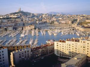 Cityscape of the Port of Marseille, France by Sylvain Grandadam