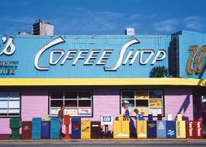 Coffee Shop, Florida by Sylvain Grandadam
