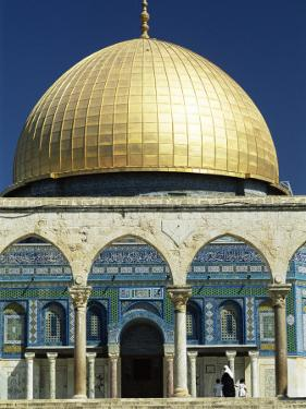 Dome of the Rock, Mosque of Omar, Temple Mount, Jerusalem, Israel, Middle East by Sylvain Grandadam