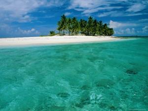 Empty Beach, Bahamas by Sylvain Grandadam