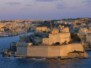 Fort St. Elmo, Valetta (Valletta), Malta, Mediterranean, Europe by Sylvain Grandadam