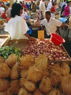 Market, St. Paul, Reunion Island, Indian Ocean by Sylvain Grandadam
