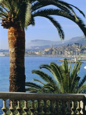 Menton, Alpes Maritimes, Provence, French Riviera, France, Europe by Sylvain Grandadam