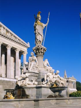 Parliament Building, Vienna, Austria by Sylvain Grandadam