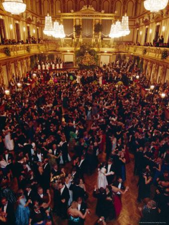 Philharmoniker Ball (Winter Ball), Auersberg Palace, Vienna, Austria