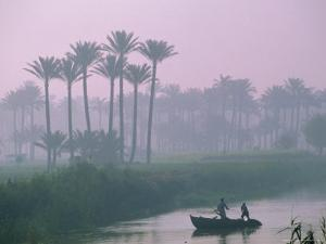 River Nile Near Memphis, Egypt, North Africa by Sylvain Grandadam